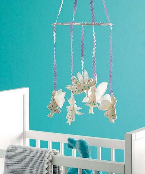 Интерьерные идеи для комнаты новорожденного