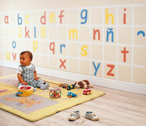 Идеи оформления стен в комнате новорожденного