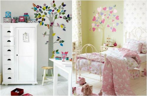 Творческие идеи декора для детской комнаты