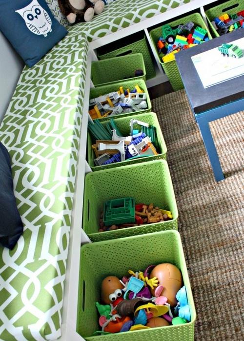 Практичная идея для хранения игрушек
