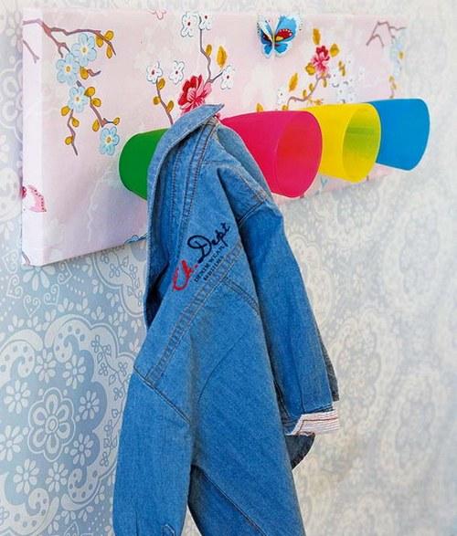 Идеи для детской - оригинальные вешалки своими руками