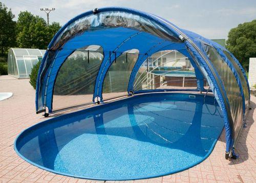 Крытый дачный бассейн фото