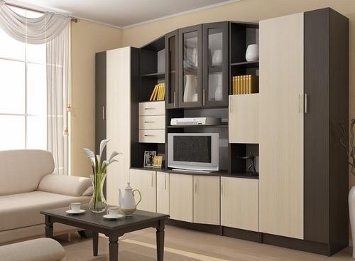 Беленый дуб мебель
