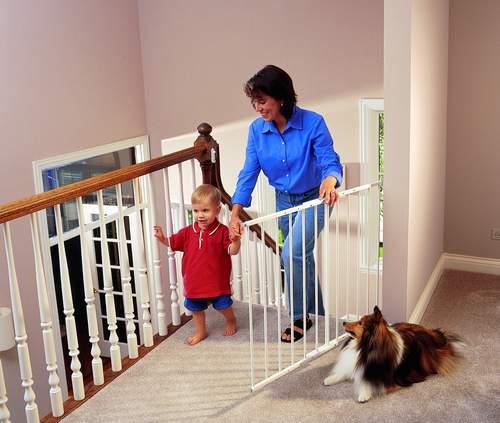 Защитные барьеры для лестниц