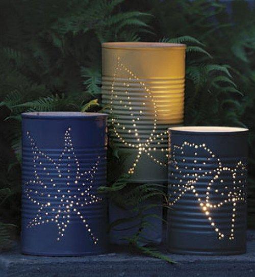 Декор садового освещения