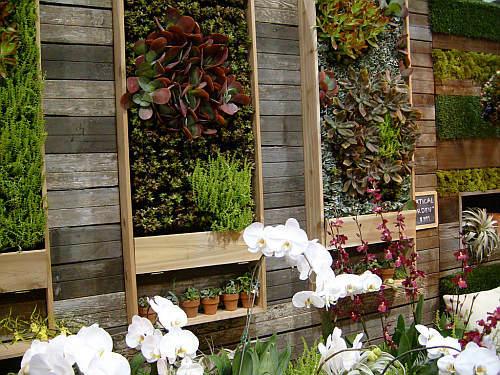 Вертикальный декоративный огород