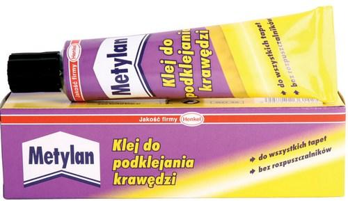 Клей для подклейки обоев Metylan в тюбике
