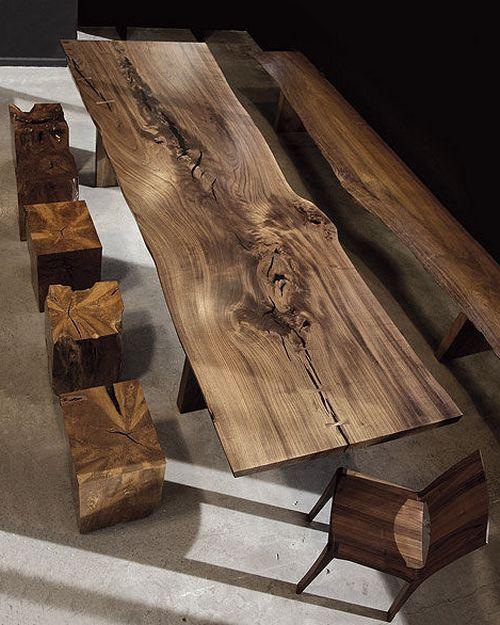 Роскошная мебель из натурального дерева