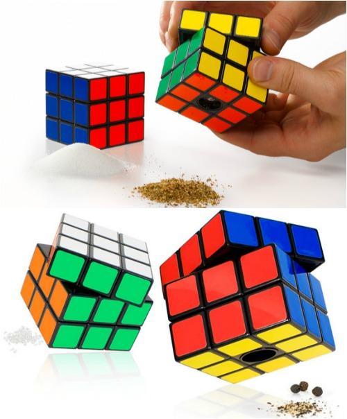 Мельница для перца кубик Рубика