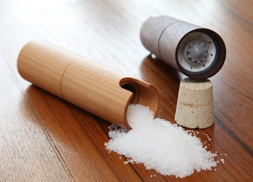 Мельница для соли и перца деревянная