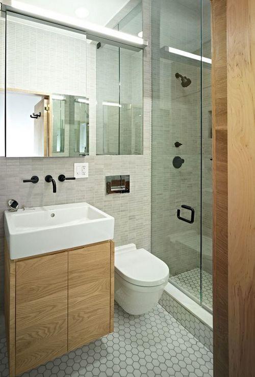 Как зрительно увеличить маленькую ванную комнату
