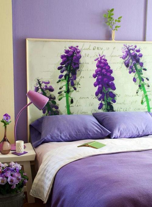 Летний дизайн спальни