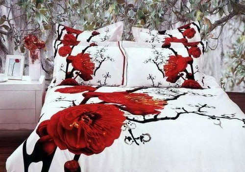 Красивое постельное белье 3Д фото