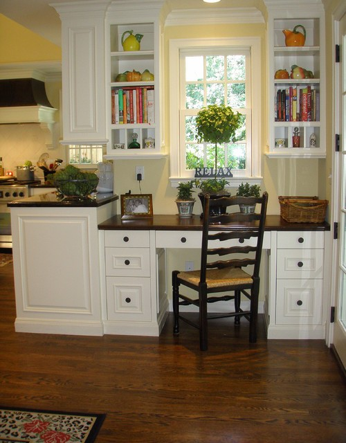 Идеи организации рабочего места на кухне