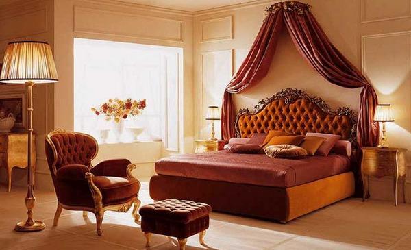 Спальня в стиле модерн фото