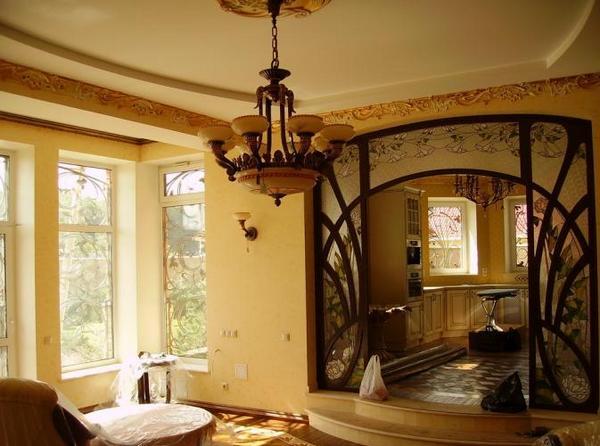 Интерьер дома в стиле модерн фото