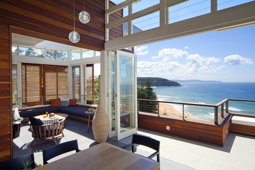 Beautiful Home Design With Modern Vintage Interior Ocean View
