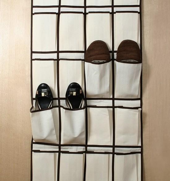 Органайзер для обуви на стену