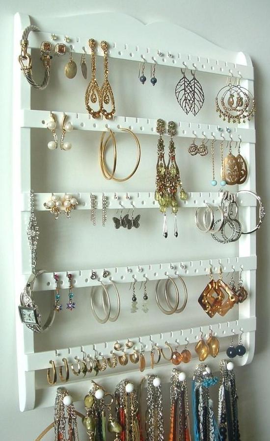 Идеи хранения украшений