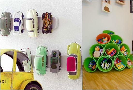 Идеи для хранения детских игрушек