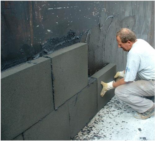 Применение пеностекла для утепления стен