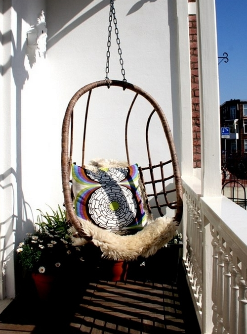 Кресло подвесное для балкона