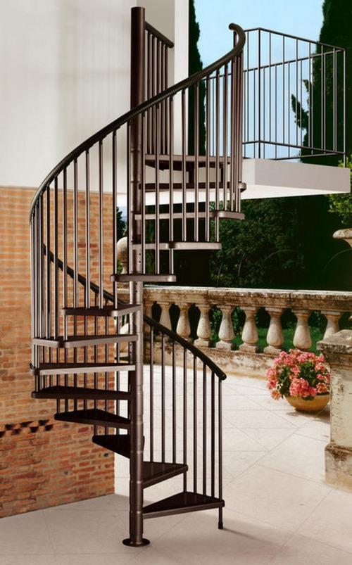 Винтовые лестницы фото