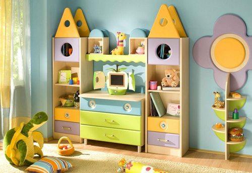 Мебель для хранения вещей и игрушек Городок фабрика Снайт
