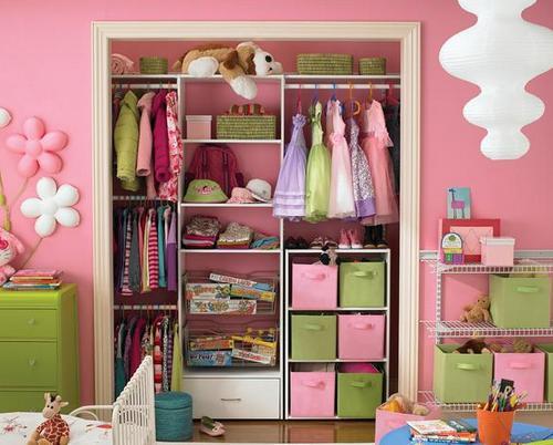 Идеи для хранения детских игрушек - шкаф-купе