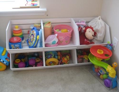 Стеллажи для детских игрушек
