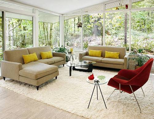 Создание уюта с помощью мягких ковриков