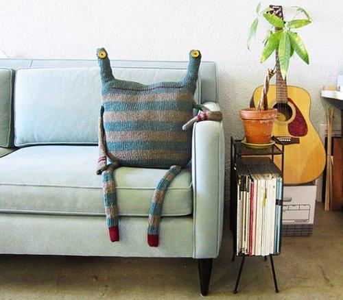 Вязаные идеи для уюта дома