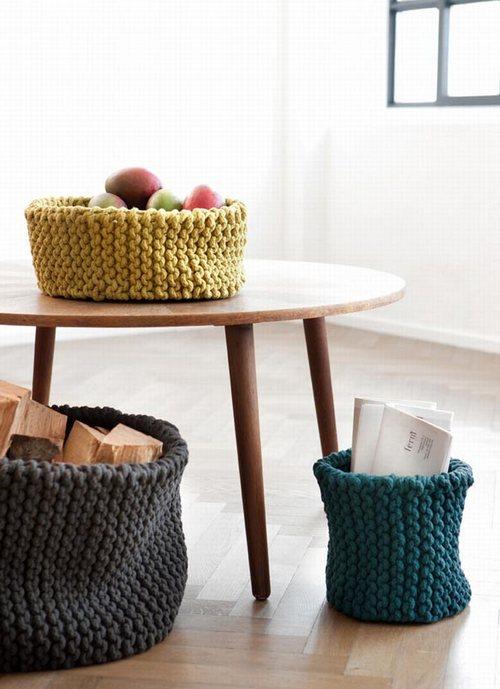 Вязаные мелочи для домашнего уюта