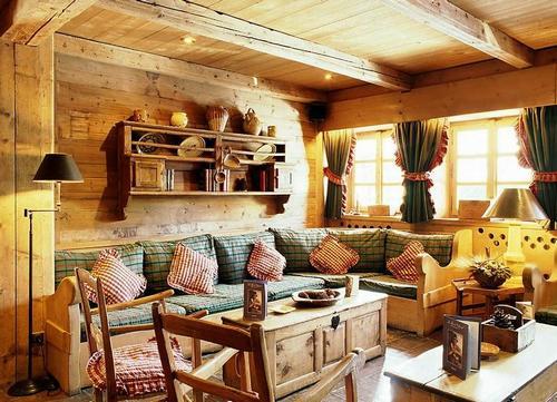 Дом в деревенском стиле фото