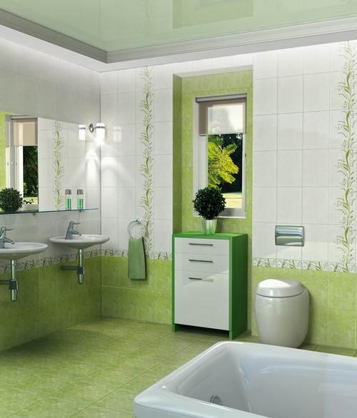 фисташковая ванная