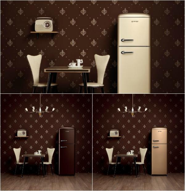 Ретро холодильники - коллекция Retro Vintage от Горенье