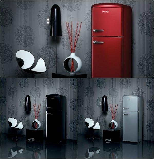 Элегантная коллекция ретро-холодильников Retro Chic от Gorenje