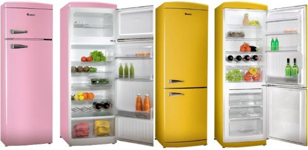 Цветные холодильники Ardo в ретро-стиле