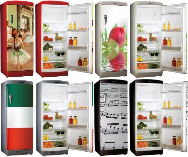 Холодильники с фотопечатью Ardo Vintage