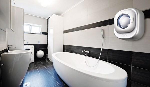 Мини стиральная машина на стену в ванной