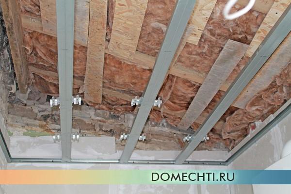 Как самостоятельно выровнять потолок мастер-класс