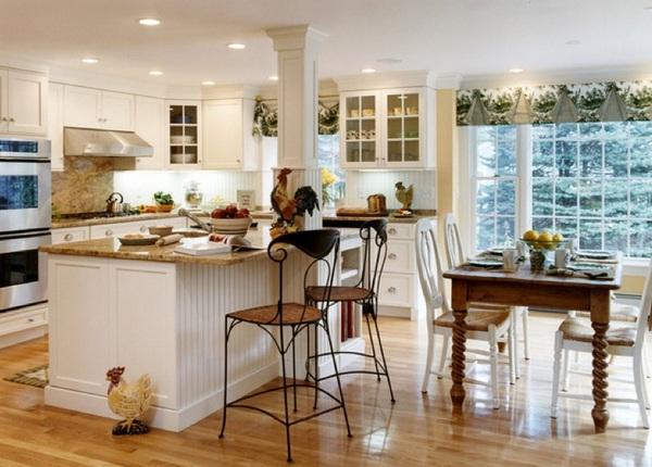 Планирование освещения кухни фото
