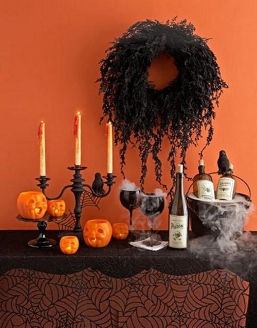 Украшения для праздника Хэллоуина в домашних условиях