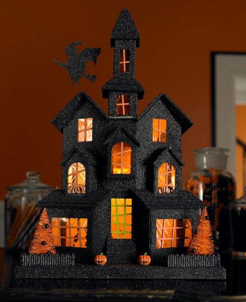 Декорация замок для Хэллоуина