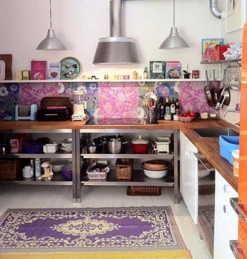 Кухня в стиле бохо фото