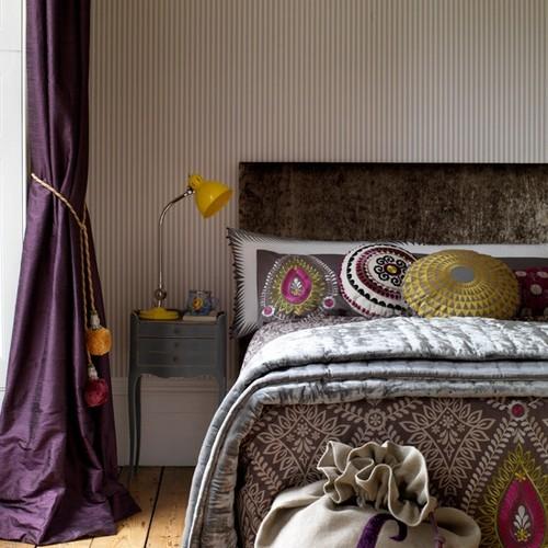 Бохо шик в интерьере спальни