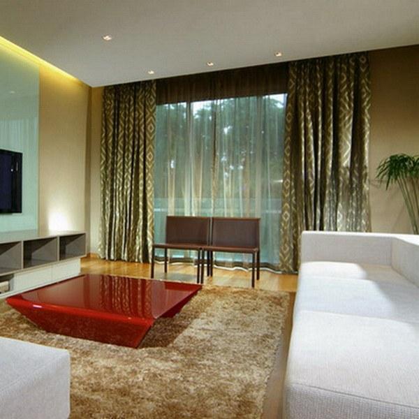 Освещение для комнаты в стиле минимализм