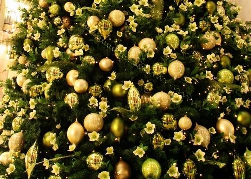 Украшение новогодней елки 2014 фото