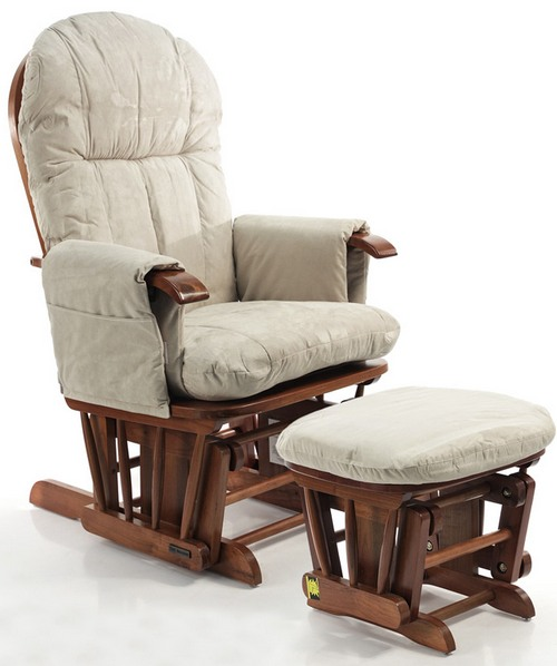 Кресло-качалка с банкеткой фото