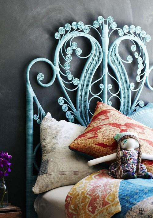 Дизайн спальни в стиле китч